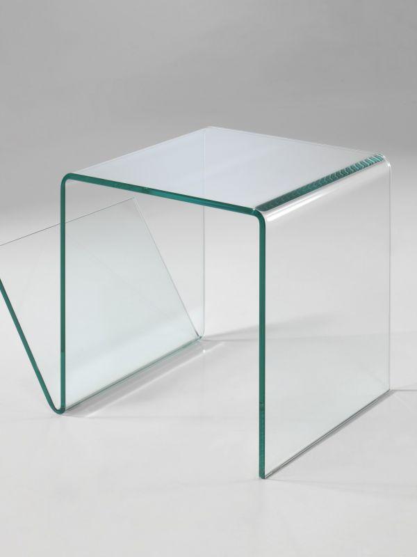 Bijzettafels pure glass