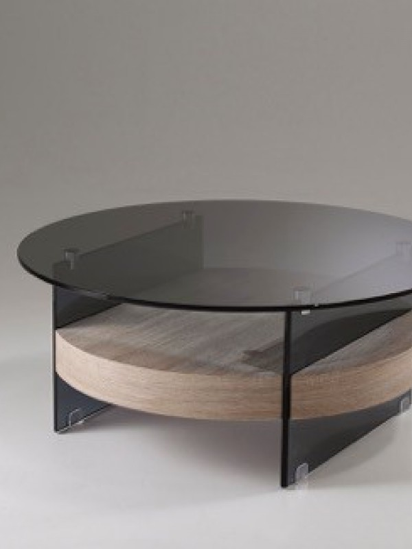 Salontafel Glas Met Hout.Salontafels Glas Hout Young Line Furniture